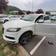 Audi Q7 - Zaseklý zámek - otevřeno bez poškození