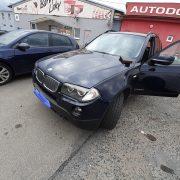 Nouzové otevření BMW X3 - přes zámek a bez poškození.