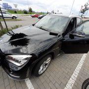 Otevření BMW X3 - Klasika, auto zamčené a klíče v zapalování