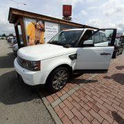 Otevření auta Land Rover HSE 2008 - příjezd k vozidlu 13 min
