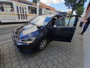 Otevření VW Touran - Brno Žabovřesky